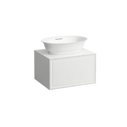 812853 - Laufen The New Classic 550mm x 380mm Bowl Washbasin & 575mm Vanity Unit - 8.1385.8